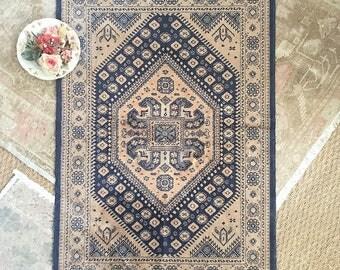 Vintage Silk/Wool Rug