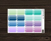 Planner Stickers Planner Stickers To Do List Stickers Ombre To Do Half Box Planner Stickers PS014