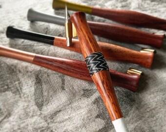 Little Nugget Wooden Oblique Pen Holders