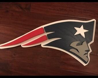 New England Patriots 3D logo