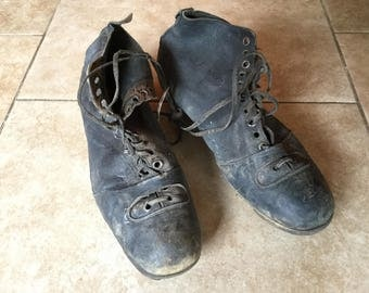 Antique 1930-40 Australian Football Cleats, Footy, AFL