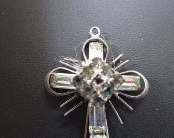 PRICE REDUCED: Vintage Rhinestone Stanhope Cross