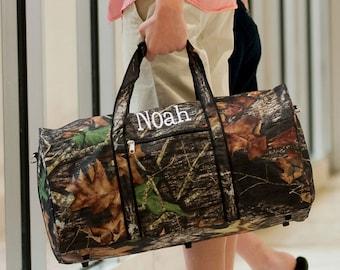 Woods - Camo - Duffel Bag - With Monogram