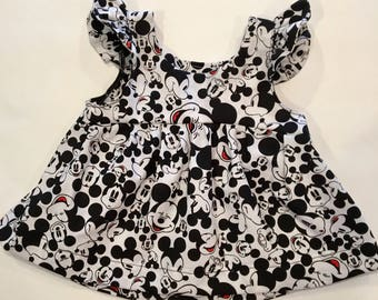 Mickey Mouse Shirt/ Disney Baby/ Disney Shirts/ Disney Dress Toddler/ Minnie Mouse Dress/ Minnie Mouse/ Disney Outfits for Girls