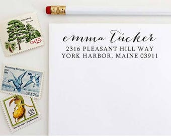 Custom Address Stamp - Self Inking Address Stamp - Wedding Gift - Housewarming Gift
