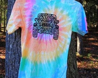 JEEP  (Youth) Tribal Tattoo Rainbow Tie-Dye YOUTH T-Shirt (S-XL)