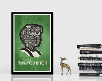 Aliens : Ellen Ripley Quote Poster