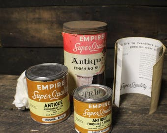Vintage Furniture Refinishing Kit, Empire Antique Finishing Kit