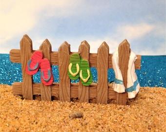 Beach Fence Fairy Garden Beach Miniature