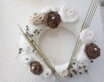 Dekokranz Vintage Shabby chic wreath decorations