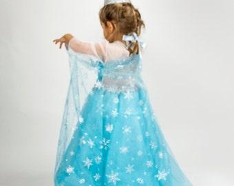 Elsa Frozen Tulle Tutu Dress for girl.