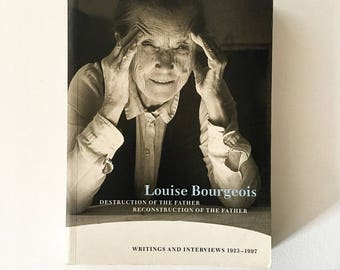 Louise Bourgeois Deconstruction Of The Father Reconstruction Of The Father / 1998 / First Edition / Vintage / Art / Collectable