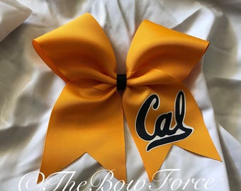Cal inspired Bow