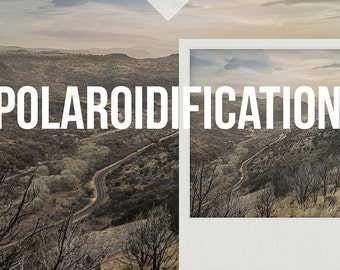 Polaroidification - A Set of Polaroid Instant Film Actions for Adobe Photoshop