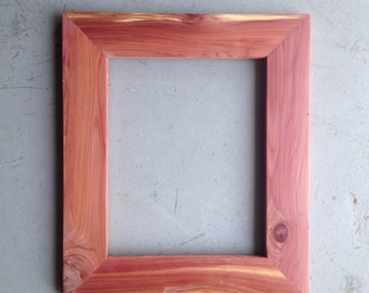 8x10 Cedar Wood Picture Frames