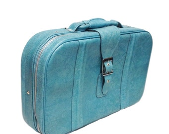 Blue Luggage. Vintage Luggage. Vintage Suitcase. Blue Suitcase. Blue Bag. Blue Luggage. Retro Suitcase. Retro Luggage. Old Suitcase. Travel