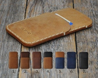 Nokia 6 5 3 PERSONALIZED ENGRAVED Case Pouch Handmade Cover Genuine Leather Shell Wallet Sleeve Rough Vintage Style Custom Sizes