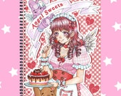 Sweet Lolita sketchbook notebook