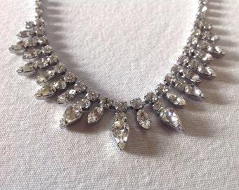 Great condition 60s Diamante necklace