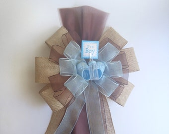 Hospital door decorations baby etsy for Baby boy door decoration