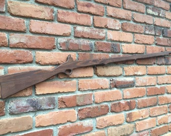 Wooden rifle musket gun 48in long