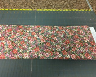 no. 319 CH Flower patch garden Fabric by the yard