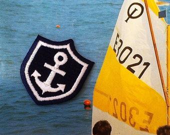 Anchor emblem patch