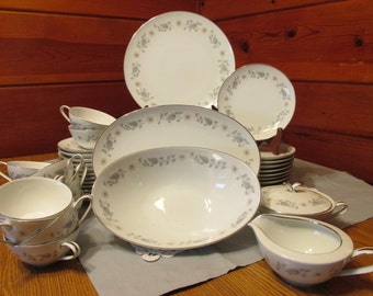 Noritake China, Wellesley #6214 Pattern, Service for 8