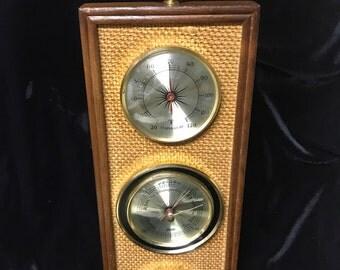 Vintage Weather Station / Barometer