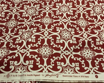 "Jennifer Paganelli SO St. CROIX 'Nancy"" in brown 3 yards"