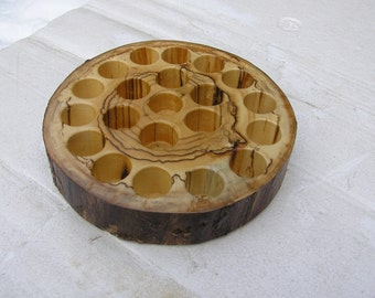 rustic essential oil holder