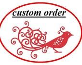 Custom order - crochet hat( fox )