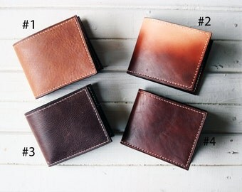 Mens wallet Bifold Wallet Leather Mens Wallet Perfect Gift Boyfriend personalized wallet  leather mens wallet