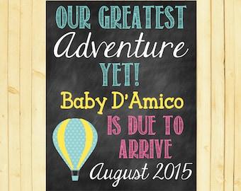 Pregnancy Announcement // Pregnancy Reveal // Adventure // Greatest Adventure // Next Adventure