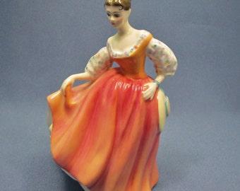 Royal Doulton Fair Lady Figurine, HN 2835 , Made in England 1977