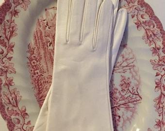 Vintage Leather Lauffer Gloves