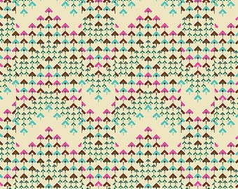 Pre-order: Prismatic in Bone by Amy Butler from the Soul Mate collection for Free Spirit #CPAB005.8Bone by 1/2 yard