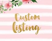 Custom Baby Headband - Coral & Bliss Bouquet Bow - Custom Listing for: Tyler Shunnarah