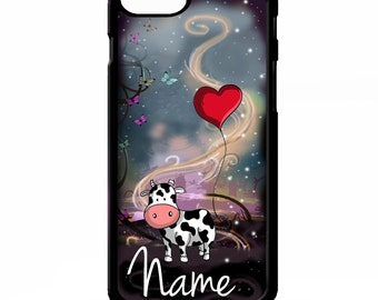 Cow cows funny cute cartoon animal girly graphic personalised name cover for sony xperia Z2 Z3 Z5 comapct Htc one m9 Lg G3 phone case