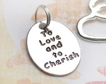20 pcs To love and to Cherish Charms