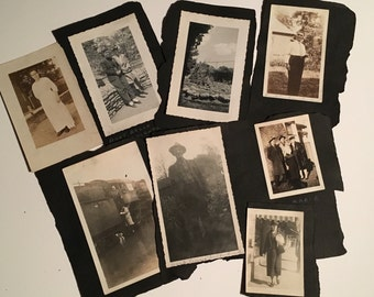 Group of antique photos 1920's