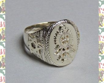 Ethiopian Cross[Ethiopia Silver Ring]