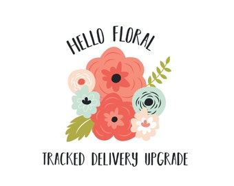 Upgrade your shipping to TRACKED