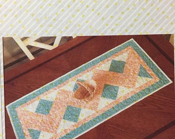 Double Chevron Table Runner Pattern