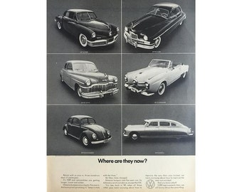 Vintage 1970 newspaper poster ad for Volkswagen   - 2
