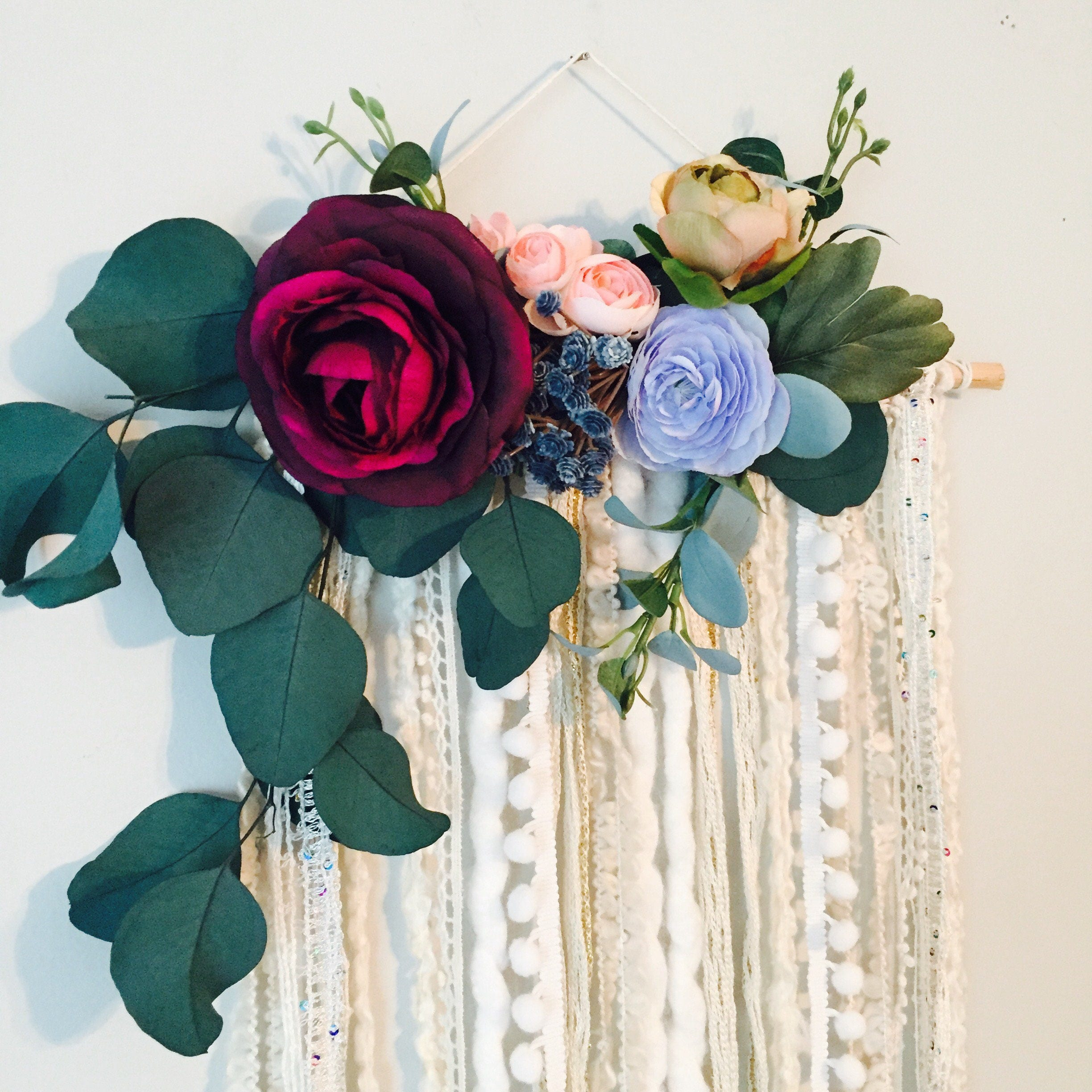 ombre pin own dried juliettelaura blogspot com decor to wall rose your on make how flower