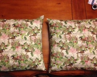 Christmas Pillow Covers 16 x 16 Inch