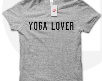 YOGA lover t-shirt, yoga t shirt, yoga shirt, yoga wear, yoga practise, fitness top, fitness t shirt.