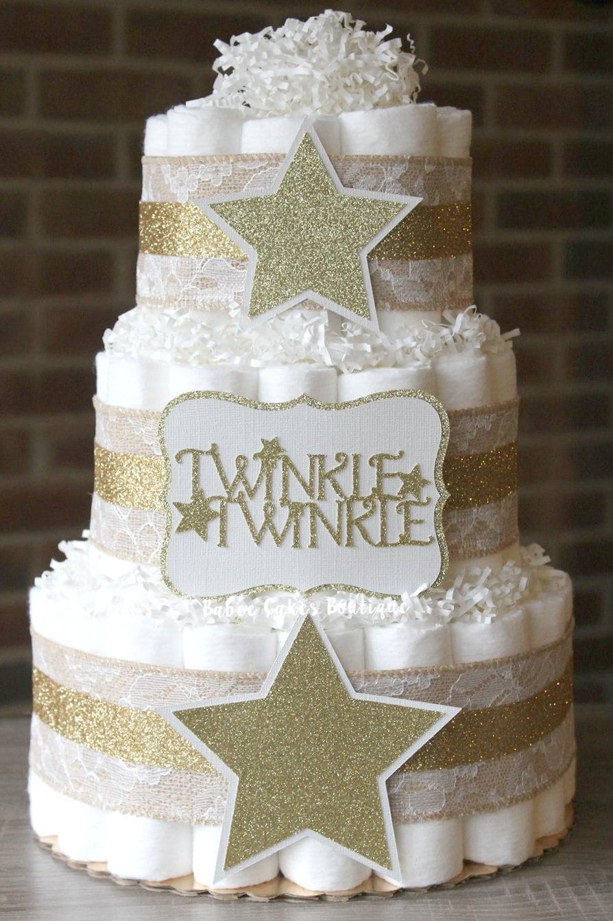 3 Tier Twinkle Twinkle Little Star Diaper By