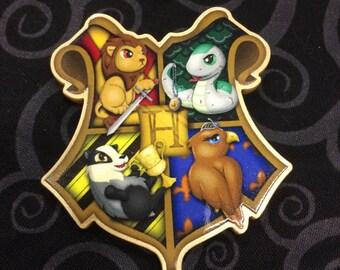 Hogwarts Crest Pin